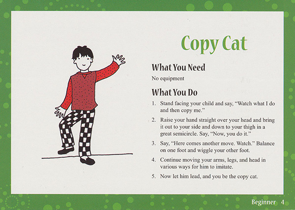 Copy Cat Activity Card
