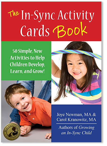 The In-Sync Activity Cards Book Cover with Award